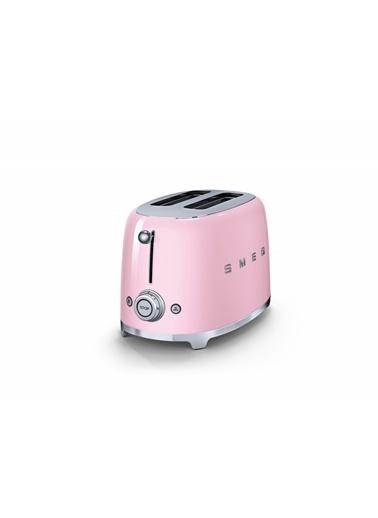 Smeg TSF01PKEU Linea 50's Retro Style Pembe İkili Ekmek Kızartma Makinesi Pembe